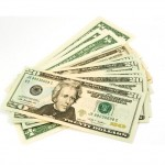 $20 bills, money saved